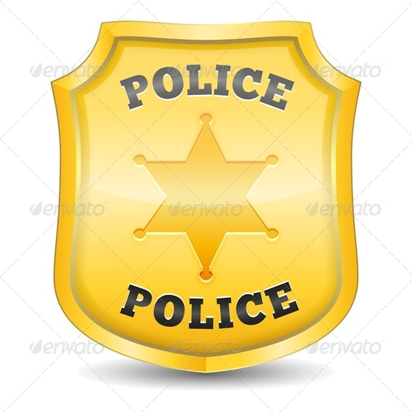 GraphicRiver Police Badge 4509451