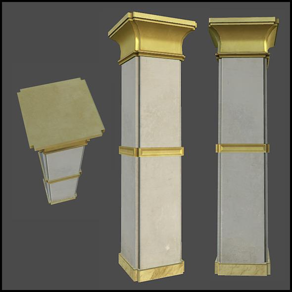 3DOcean Lobby Column 4509460