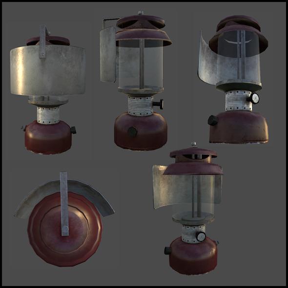 3DOcean Kerosene Lantern 4509526