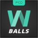 W Balls - PSD Template - ThemeForest Item for Sale