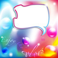 Enjoy the colors background with comic balloon - PhotoDune Item for Sale