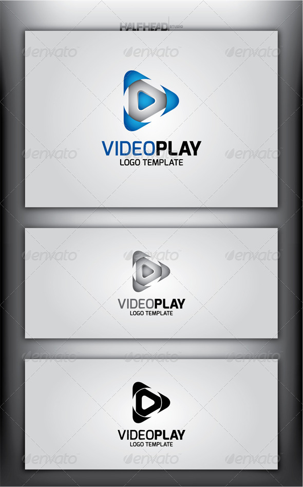GraphicRiver VideoPlay Logo Template 4511443