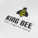 King Bee Logo - GraphicRiver Item for Sale