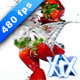 Strawberries 480fps - VideoHive Item for Sale