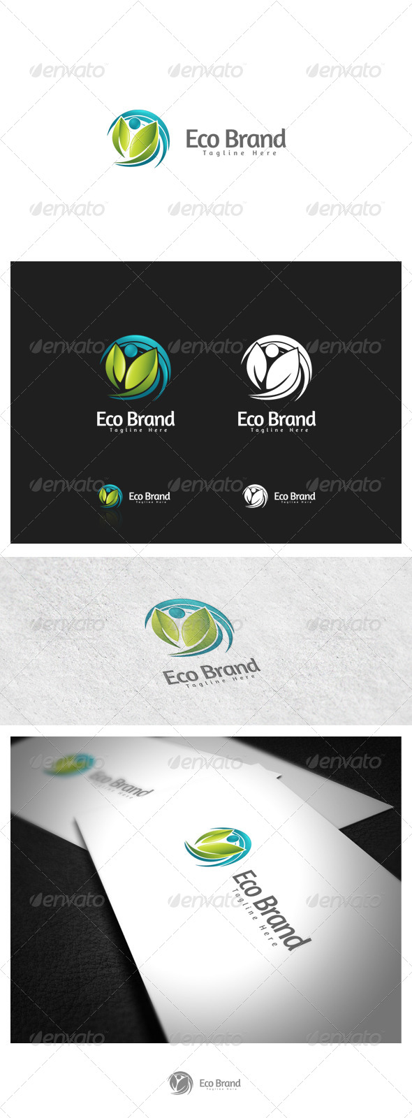 Eco Brand - Nature Logo Templates