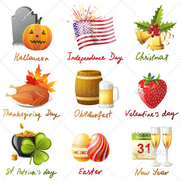 GraphicRiver All Holidays 4512162