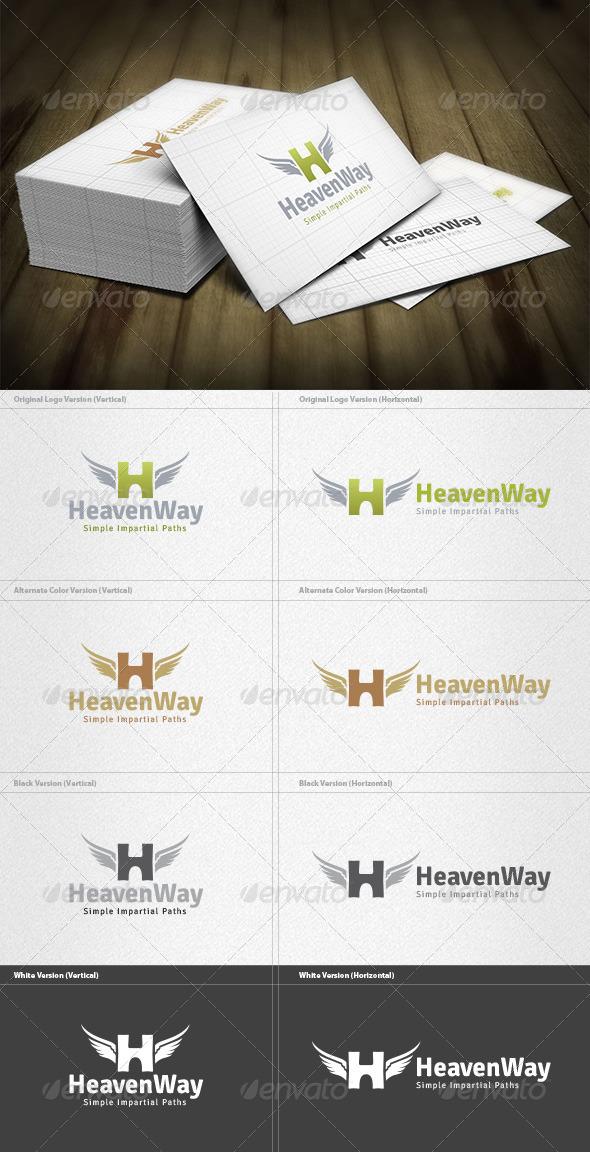 GraphicRiver Heaven Way Logo 4512448