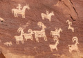 Ute Petroglyphs in Arches National Park - PhotoDune Item for Sale