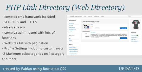 Complex Link Directory - CodeCanyon Item for Sale