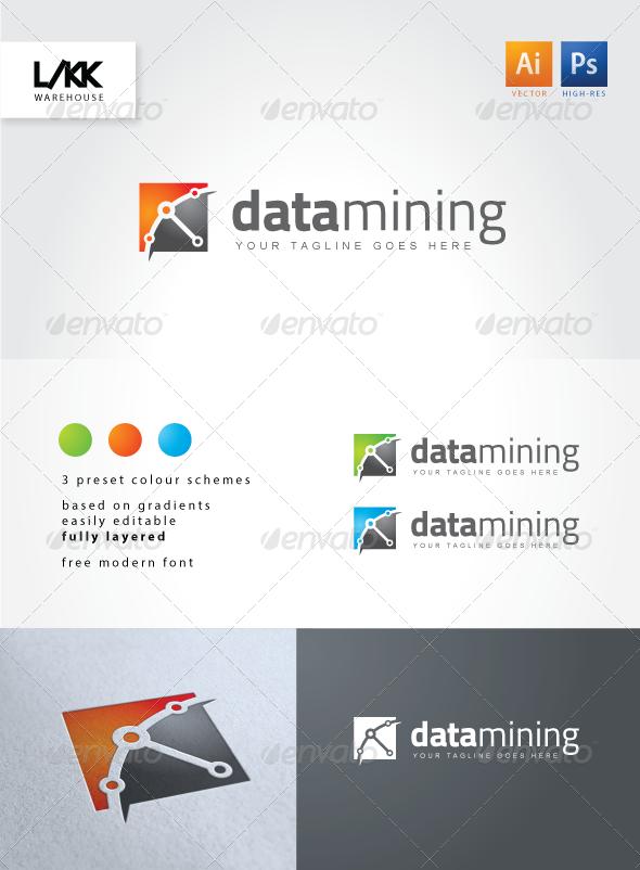 GraphicRiver DataMining Logo 4513400