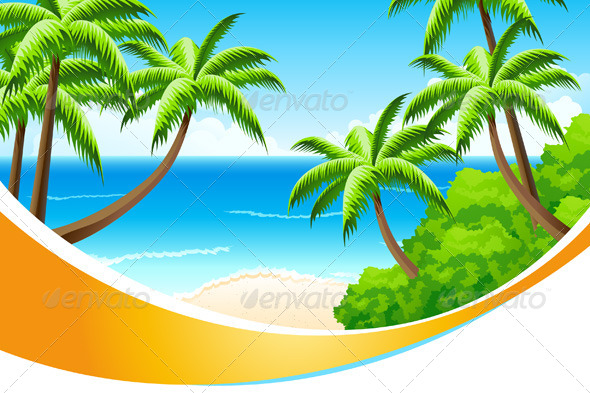 GraphicRiver Background Summer Vacation 4515763