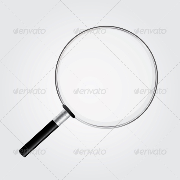 GraphicRiver Magnifying Glass Vector Illustration 4515988