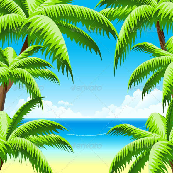 GraphicRiver Summer Vacation Background 4516400