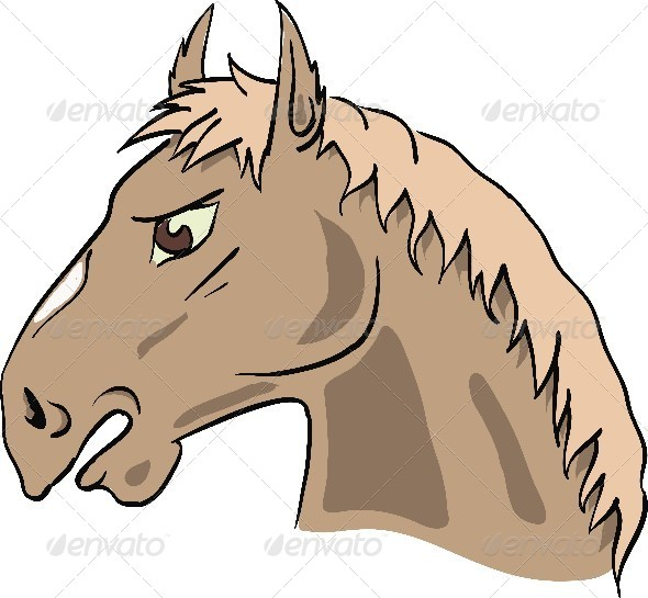 GraphicRiver Horse 4516401