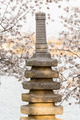 Cherry Blossom and Japanese Monument - PhotoDune Item for Sale