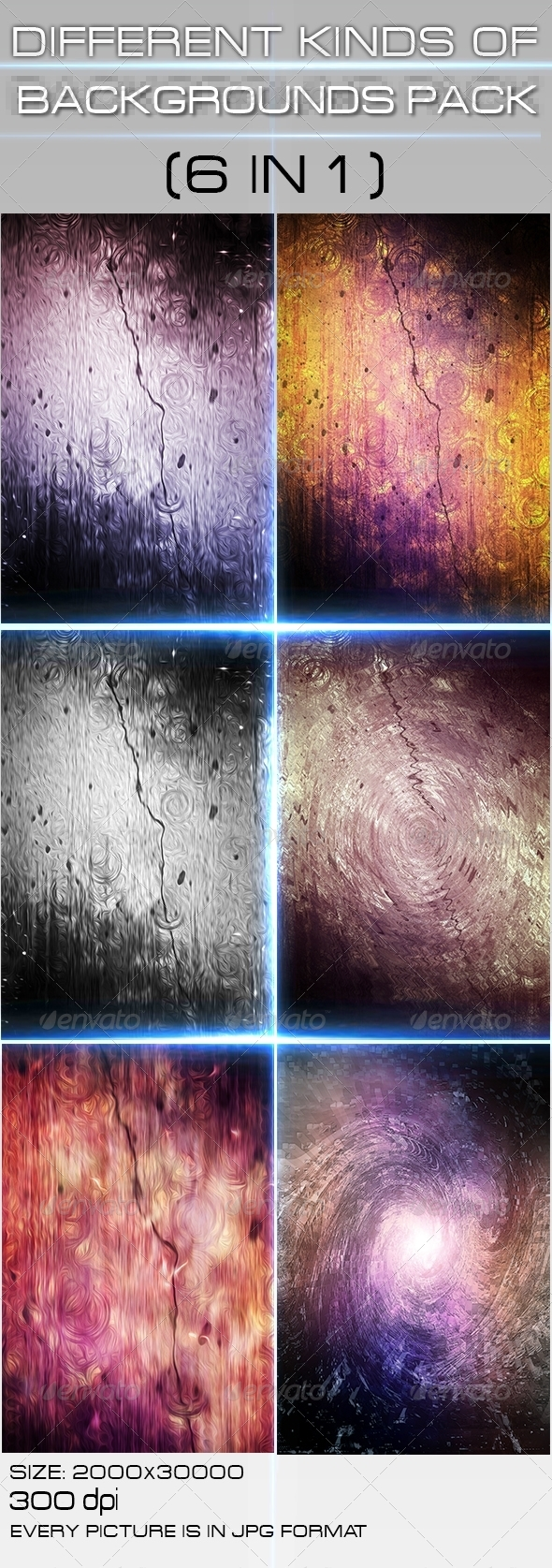 GraphicRiver Backgrounds Pack 4457742