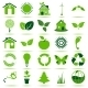Green Eco Icons - GraphicRiver Item for Sale