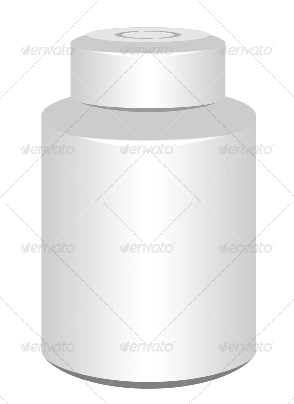 GraphicRiver Pill Bottle 4519235