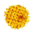 Waffles circle golden one - PhotoDune Item for Sale