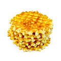 Waffles circle golden stack - PhotoDune Item for Sale