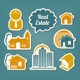 Real Estate Icons - GraphicRiver Item for Sale