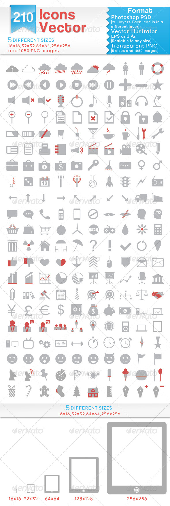 Vector Icons - Web Icons