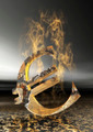 Burning Euro Sign - PhotoDune Item for Sale