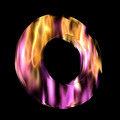 Flaming 3D Letter - PhotoDune Item for Sale
