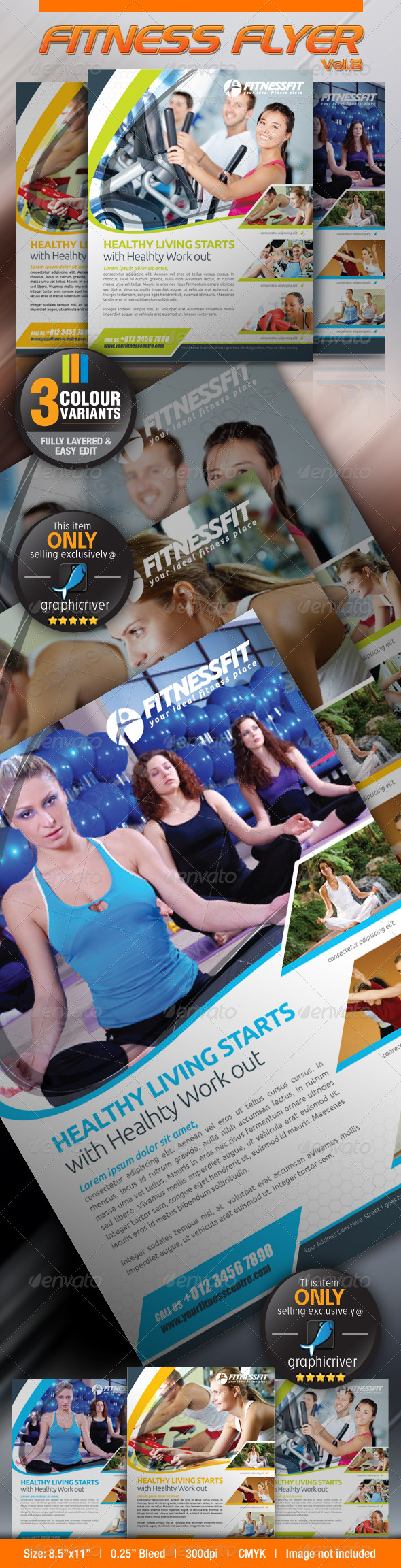 Fitness Flyer Vol.8 - Sports Events