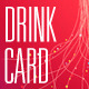 Drink Wine Card Colorful - GraphicRiver Item for Sale