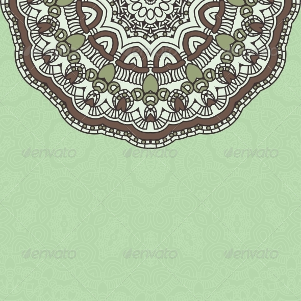 GraphicRiver Vector Round Decorative Design Element 4520642
