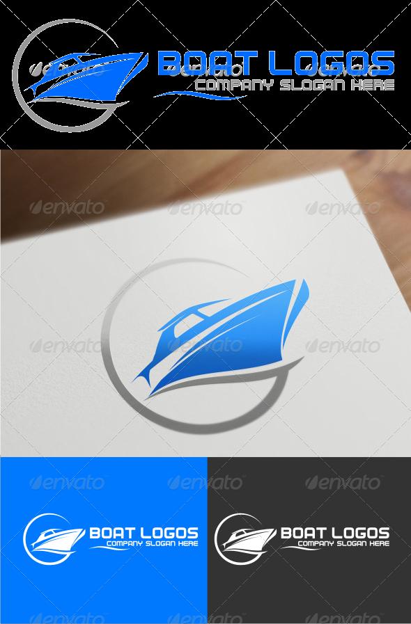 GraphicRiver boat logo templates 4520657