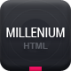 Millenium - Responsive Onepage Portfolio - ThemeForest Item for Sale