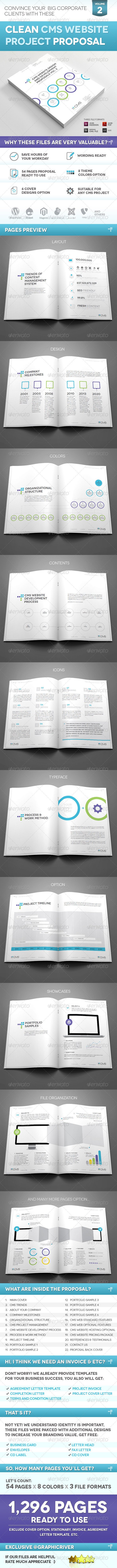 GraphicRiver Clean CMS Web Proposal Vol 2 4411305