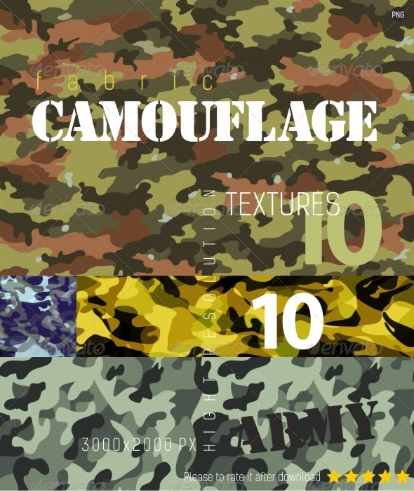GraphicRiver Camouflage Texture Backgrounds 4521119