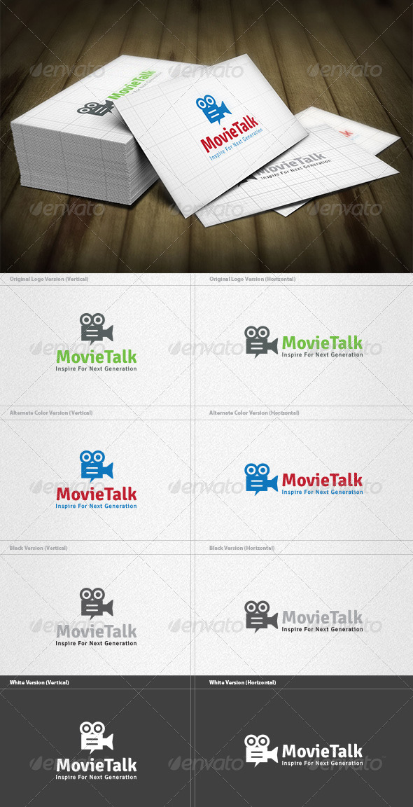 Movie Talk Logo - Objects Logo Templates