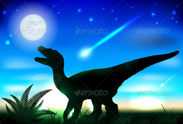 GraphicRiver Tyrannosaurus Rex 4521378