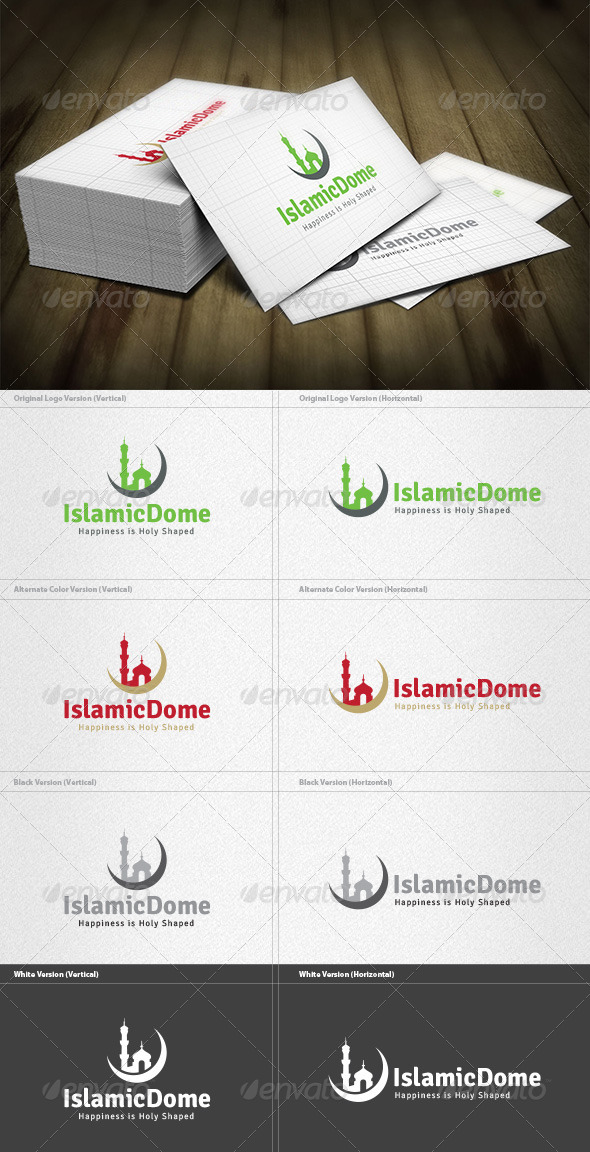 GraphicRiver Islamic Dome Logo 4522880