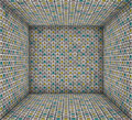 3d sound - system mosaic grunge square tiled empty space - PhotoDune Item for Sale
