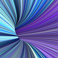 3d render tunnel pipes in multiple purple blue colors  - PhotoDune Item for Sale
