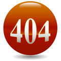 404 error icon  - PhotoDune Item for Sale