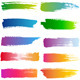 Watercolor Brush Strokes, Vector Set - GraphicRiver Item for Sale