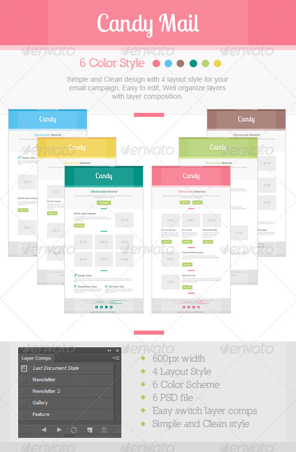 GraphicRiver Candy Mail 4526241