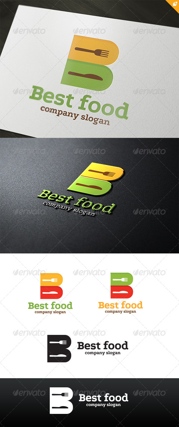 GraphicRiver Best Food Logo 4526399