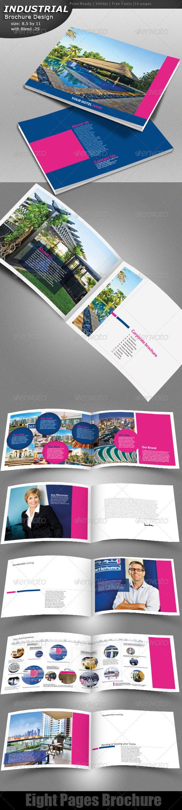 GraphicRiver Hotel Brochure 4527039