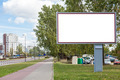 Blank billboard in city - PhotoDune Item for Sale