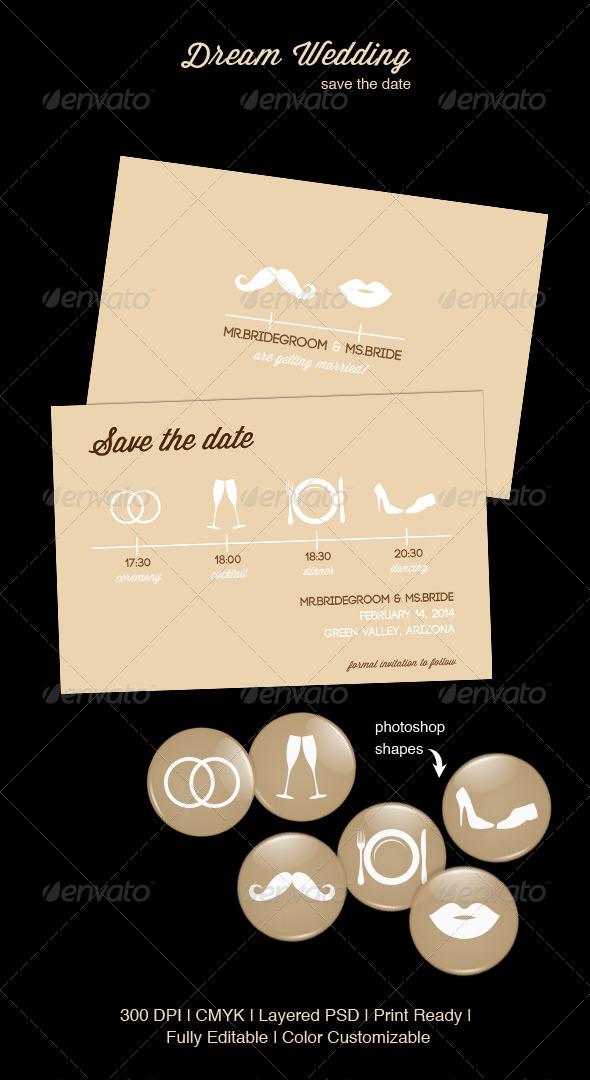 GraphicRiver Dream Wedding 4306160