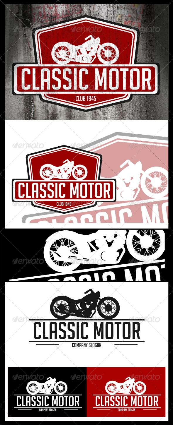 GraphicRiver classic motor logo templates 4528524