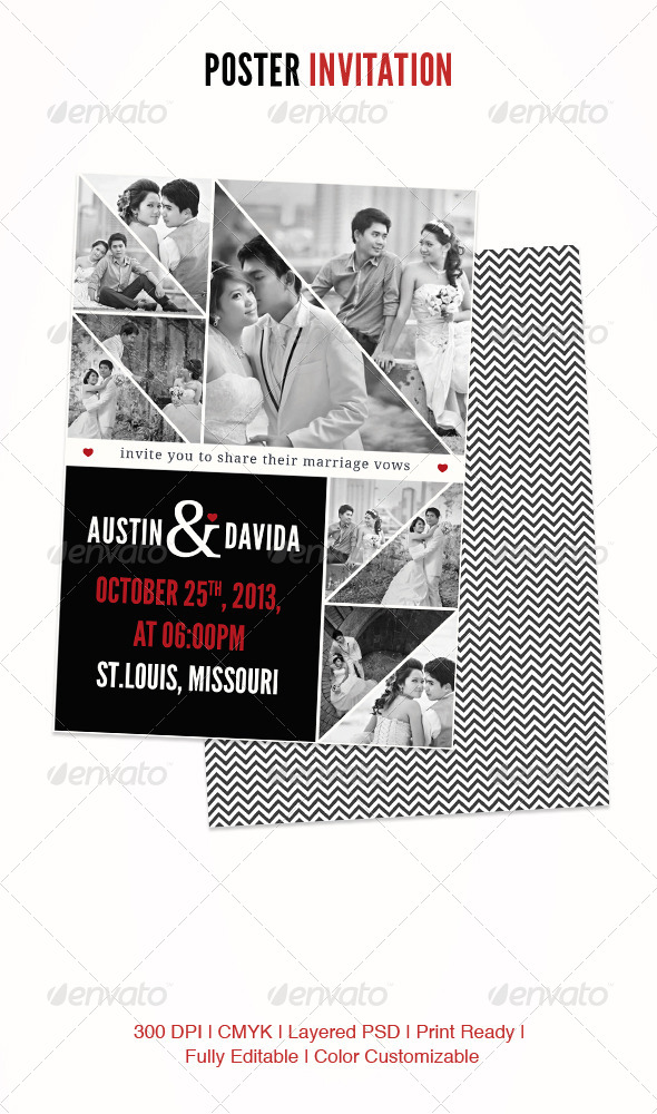GraphicRiver Poster Invitation 4530383