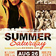 Summer Grunge Party Flyer - GraphicRiver Item for Sale